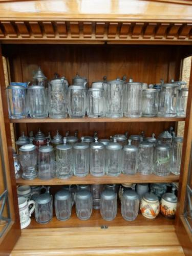 Glass Tankards - 1890