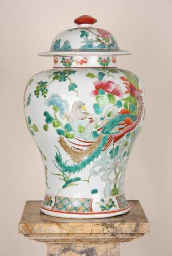 Porcelain Vase with Lid - porcelain - 1925