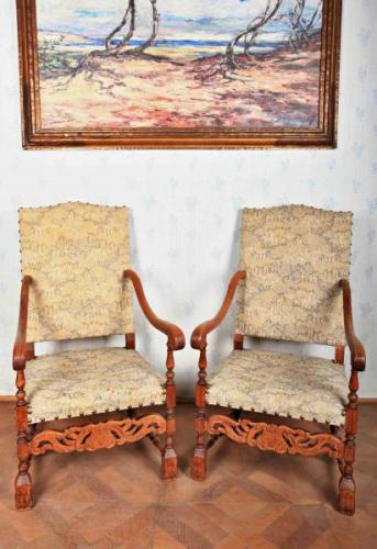 Pair of Armchairs - wood - 1890
