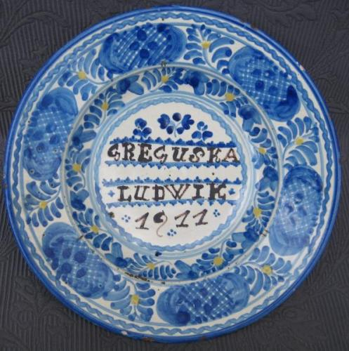 Wall Plate - 1911