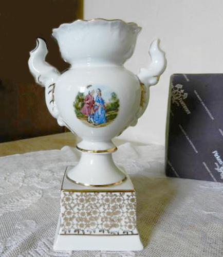 Vase from Porcelain - white porcelain - 1960