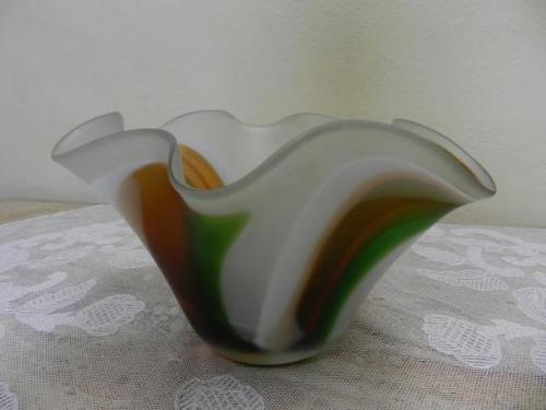 Glass Bowl - glass - 1960