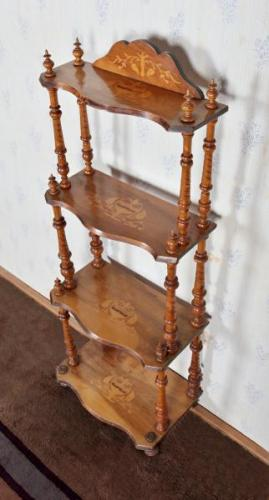 Four-Tier Whatnot - wood - 1900